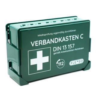 Betriebsverbandkasten grün DIN 13157