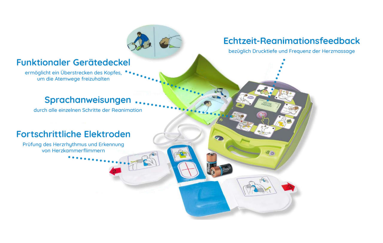 Defibrillator kaufen - Diese Vorteile bietet ein automatisierter externer Defibrillator