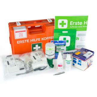 Erste Hilfe Koffer DIN 13157 Plus für Gastronomie und Lebensmittelindustrie