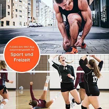 FLEXEO DIN 13157 Plus für Sport und Freizeit