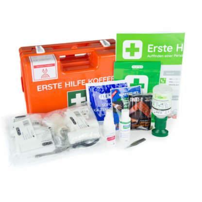 Erste Hilfe Koffer DIN 13157 Plus für Werkstatt und Handwerk