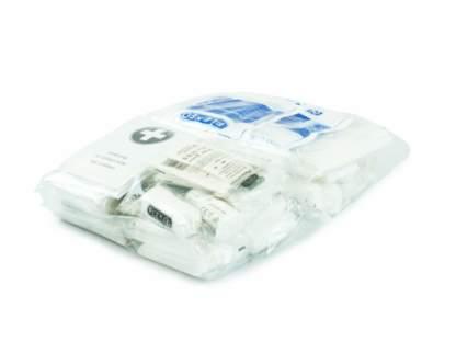 DIN 13169 Nachfüllset für Erste-Hilfe-Koffer - Lieferumfang