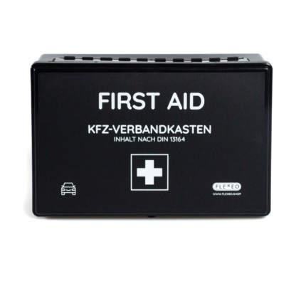 KFZ-Verbandkasten nach DIN 13164 Frontansicht