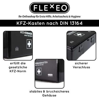 FLEXEO KFZ-Verbandkasten Vorteile