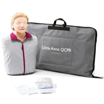 Laerdal Little Anne QCPR Lieferumfang