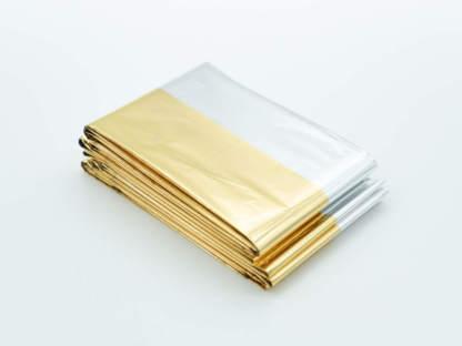 Rettungsdecke mit Gold- und Silberseite