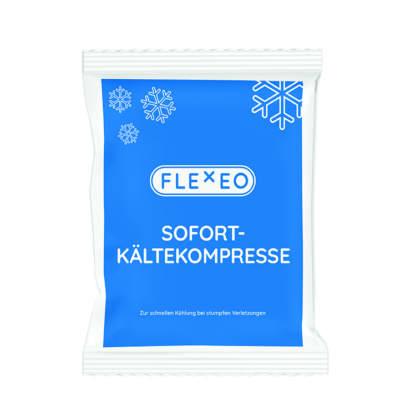 FLEXEO Sofort-Kältekompresse - Ansicht der Vorderseite