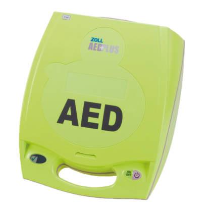 ZOLL AED Plus Halbautomat mit EKG-Ansicht