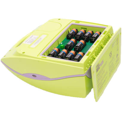 Batteriefach des ZOLL AED Plus Halbautomaten