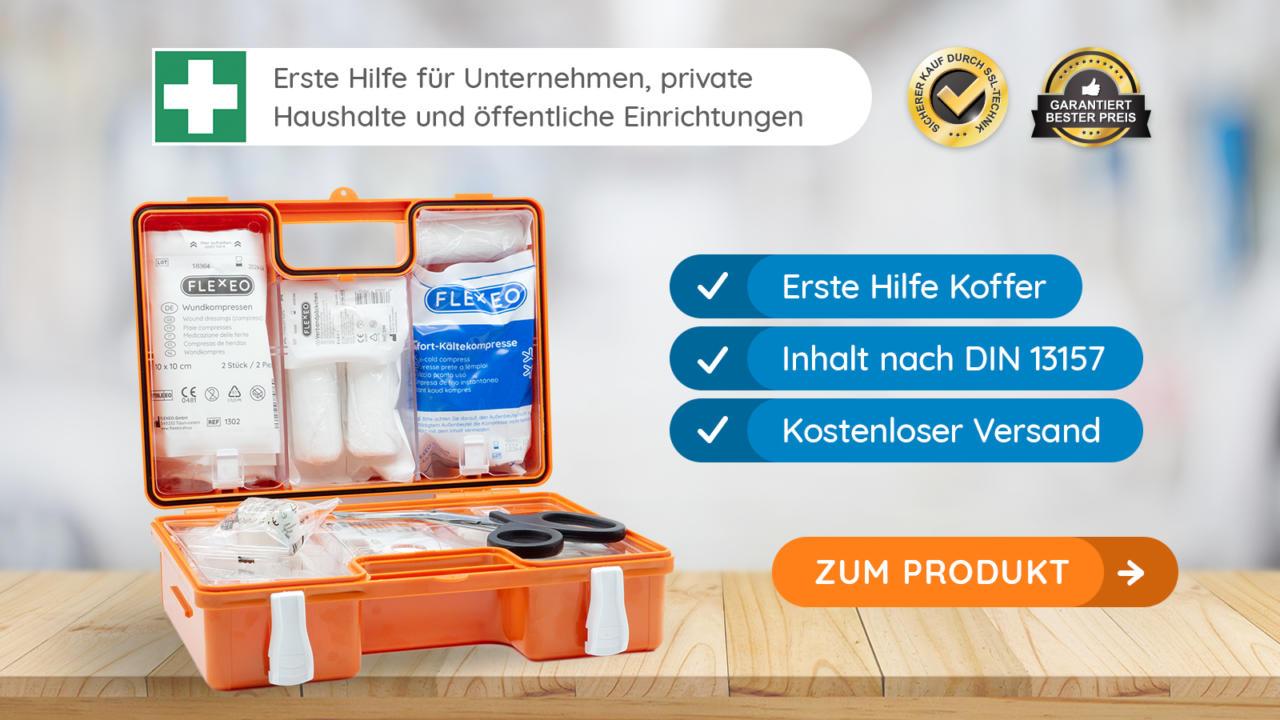 Shop Für Erste Hilfe Verbandkästen Pflasterspender Flexeo
