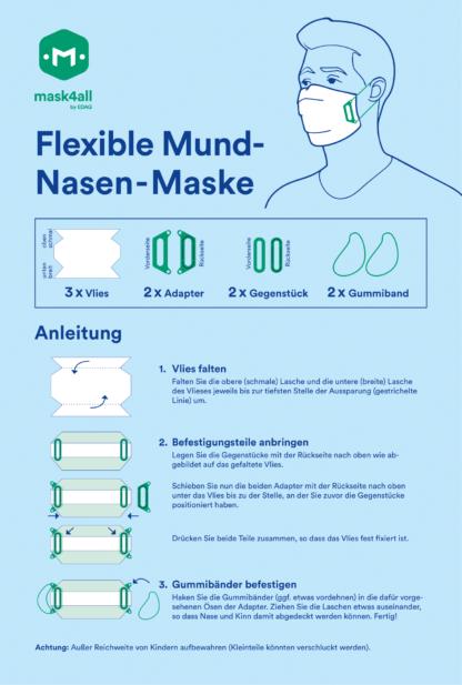 mask4all – Bauanleitung
